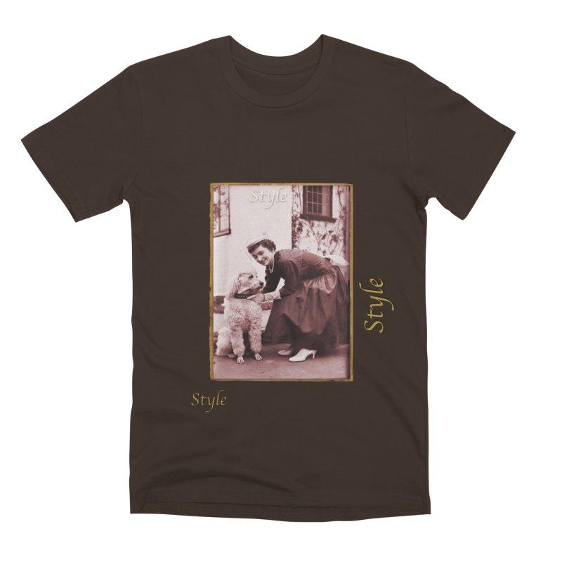 Celebrate Parisian Style! Men's Premium T-Shirt by Maryheartworks's Artist Shop