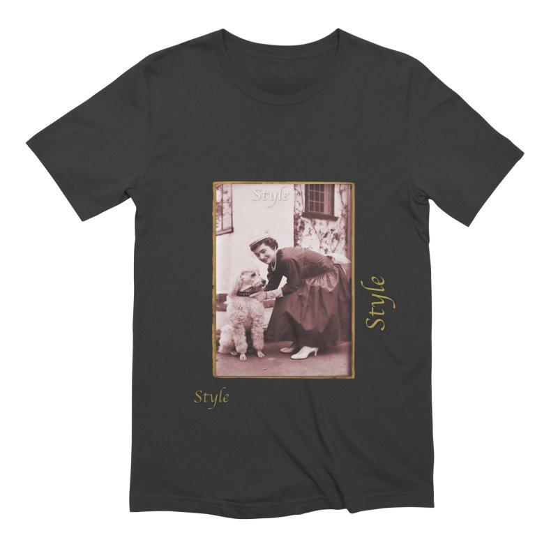 Celebrate Parisian Style! Men's Extra Soft T-Shirt by Maryheartworks's Artist Shop