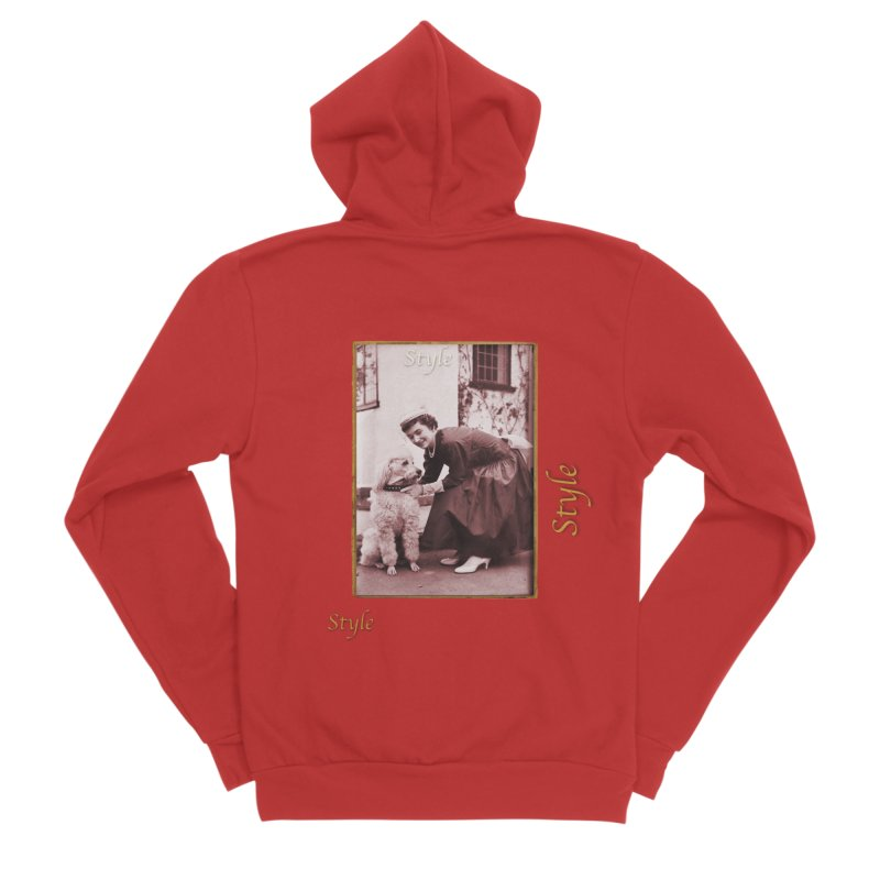 Celebrate Parisian Style! Men's Zip-Up Hoody by Maryheartworks's Artist Shop