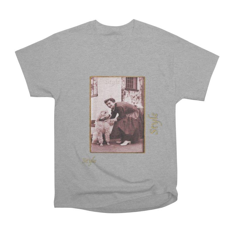Celebrate Parisian Style! Women's Heavyweight Unisex T-Shirt by Maryheartworks's Artist Shop
