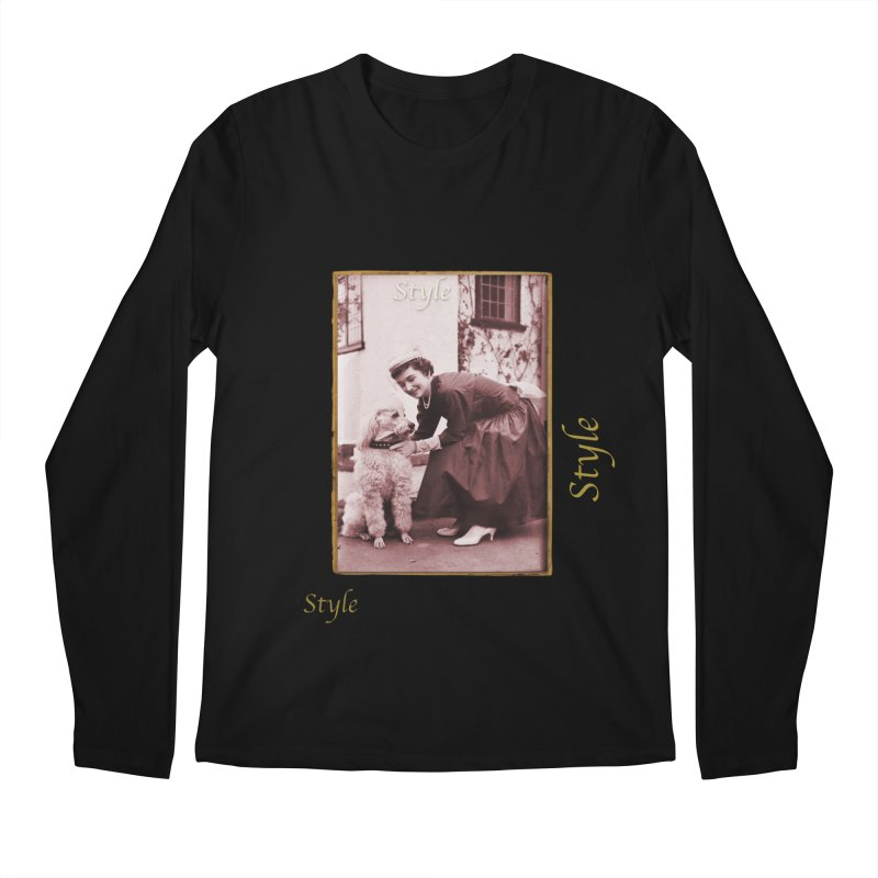 Celebrate Parisian Style! Men's Regular Longsleeve T-Shirt by Maryheartworks's Artist Shop