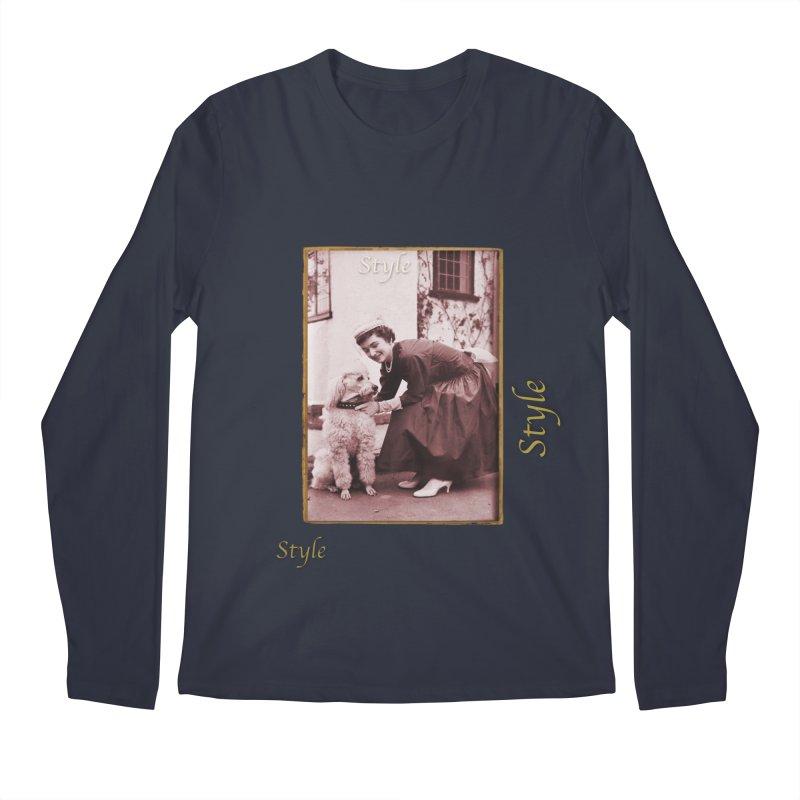 Celebrate Parisian Style! Men's Regular Longsleeve T-Shirt by Maryheartworks's Artist Shop