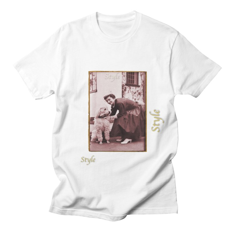 Celebrate Parisian Style! Men's Regular T-Shirt by Maryheartworks's Artist Shop