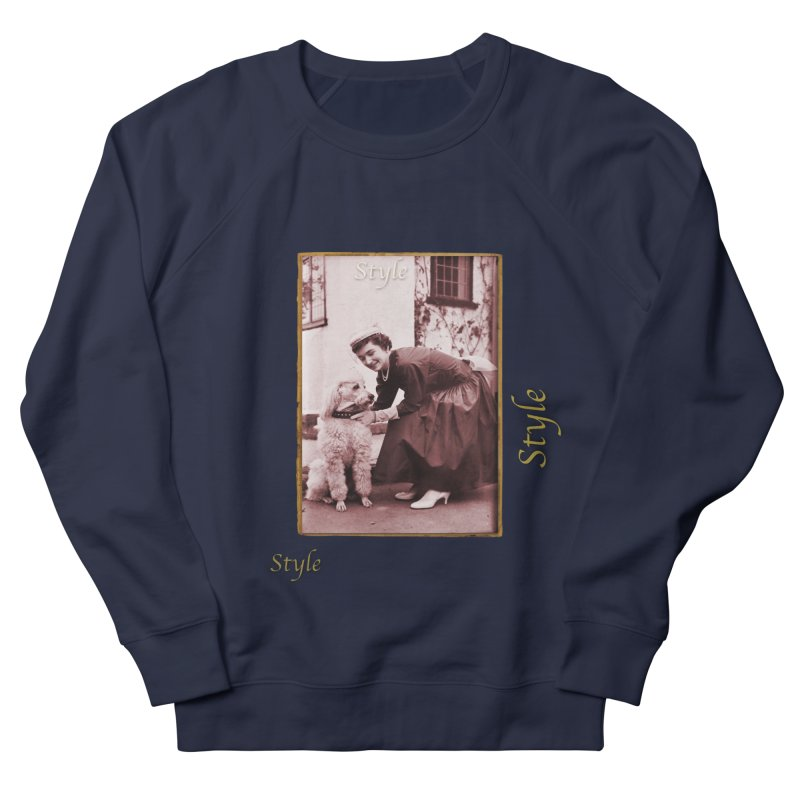 Celebrate Parisian Style! Men's French Terry Sweatshirt by Maryheartworks's Artist Shop