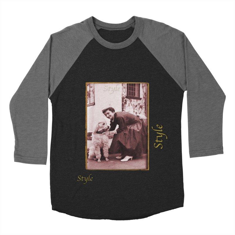 Celebrate Parisian Style! Men's Baseball Triblend Longsleeve T-Shirt by Maryheartworks's Artist Shop