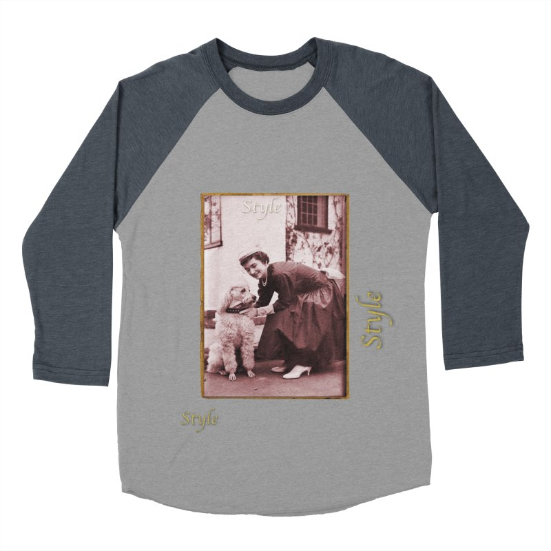 Celebrate Parisian Style! Men's Baseball Triblend Longsleeve T-Shirt by Maryheartworks's Artist Shop