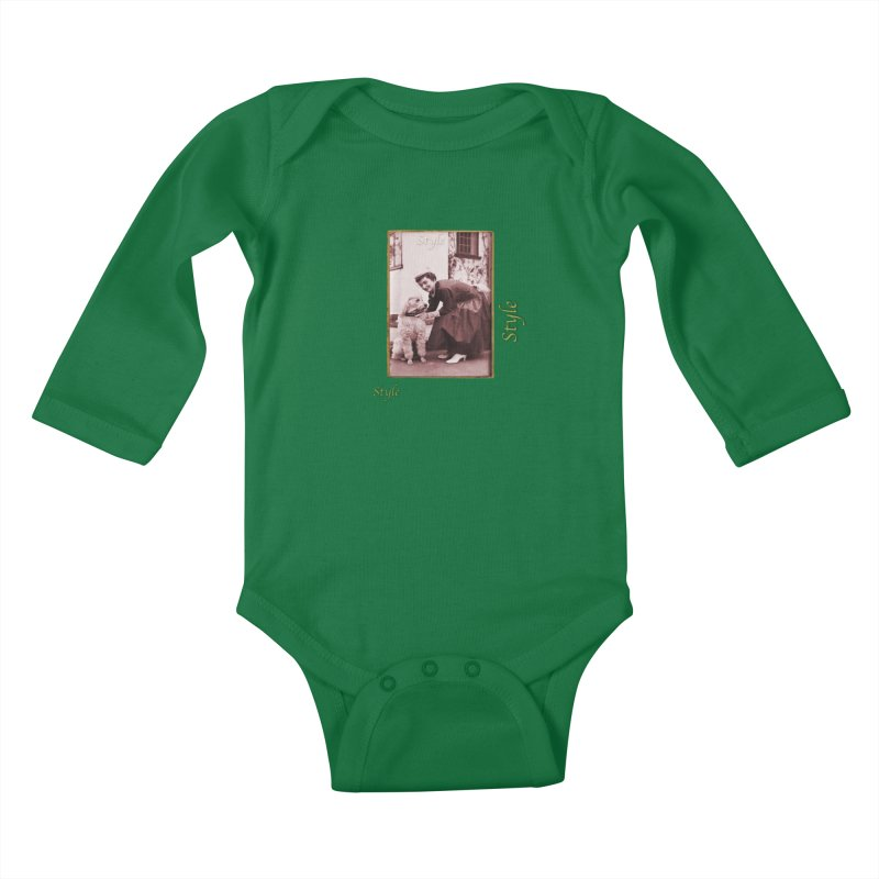 Celebrate Parisian Style! Kids Baby Longsleeve Bodysuit by Maryheartworks's Artist Shop