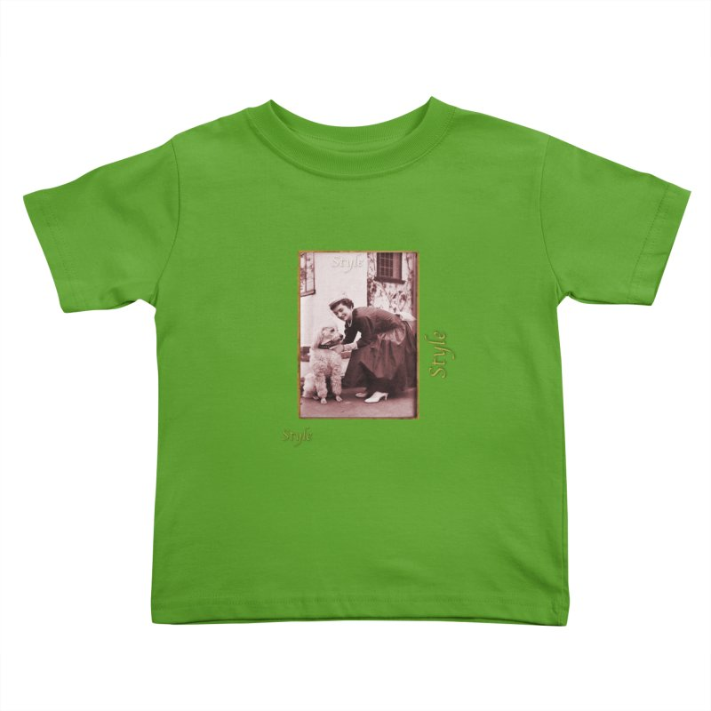 Celebrate Parisian Style! Kids Toddler T-Shirt by Maryheartworks's Artist Shop