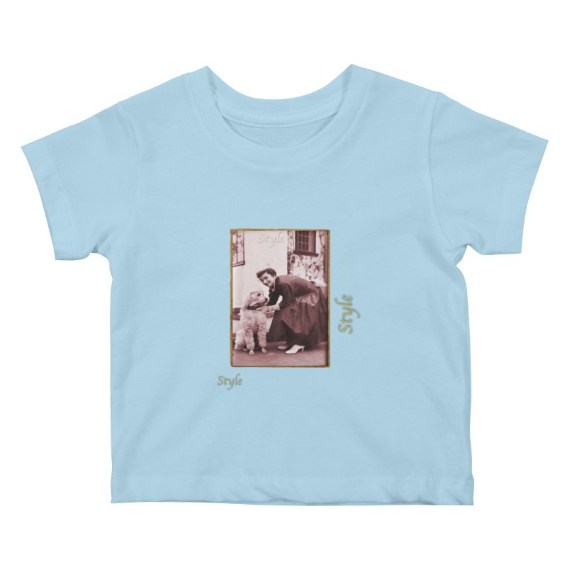 Celebrate Parisian Style! Kids Baby T-Shirt by Maryheartworks's Artist Shop