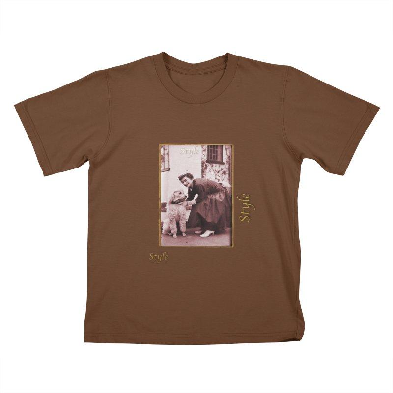 Celebrate Parisian Style! Kids T-Shirt by Maryheartworks's Artist Shop
