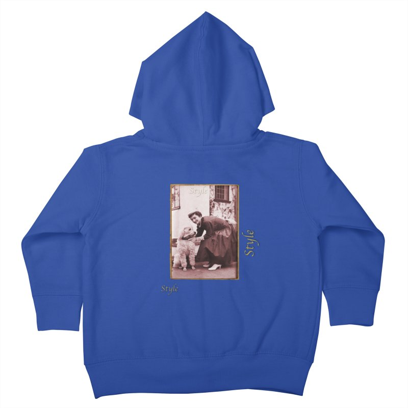 Celebrate Parisian Style! Kids Toddler Zip-Up Hoody by Maryheartworks's Artist Shop