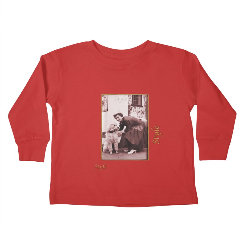 Celebrate Parisian Style! Kids Toddler Longsleeve T-Shirt by Maryheartworks's Artist Shop