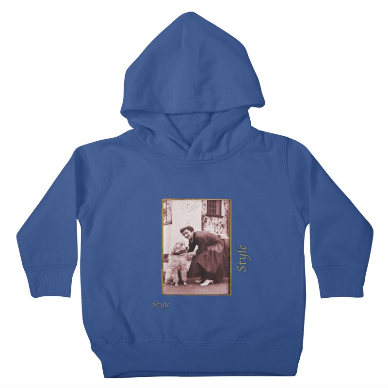 Celebrate Parisian Style! Kids Toddler Pullover Hoody by Maryheartworks's Artist Shop