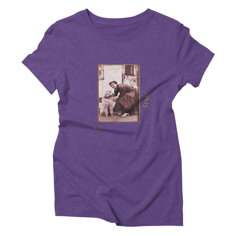 Celebrate Parisian Style! Women's Triblend T-Shirt by Maryheartworks's Artist Shop