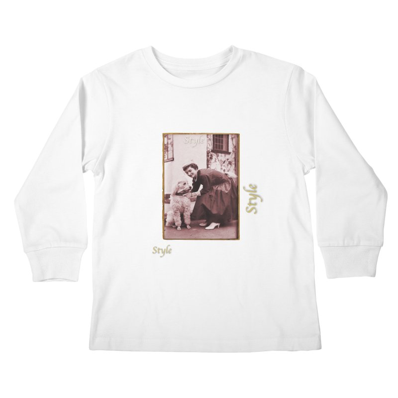 Celebrate Parisian Style! Kids Longsleeve T-Shirt by Maryheartworks's Artist Shop