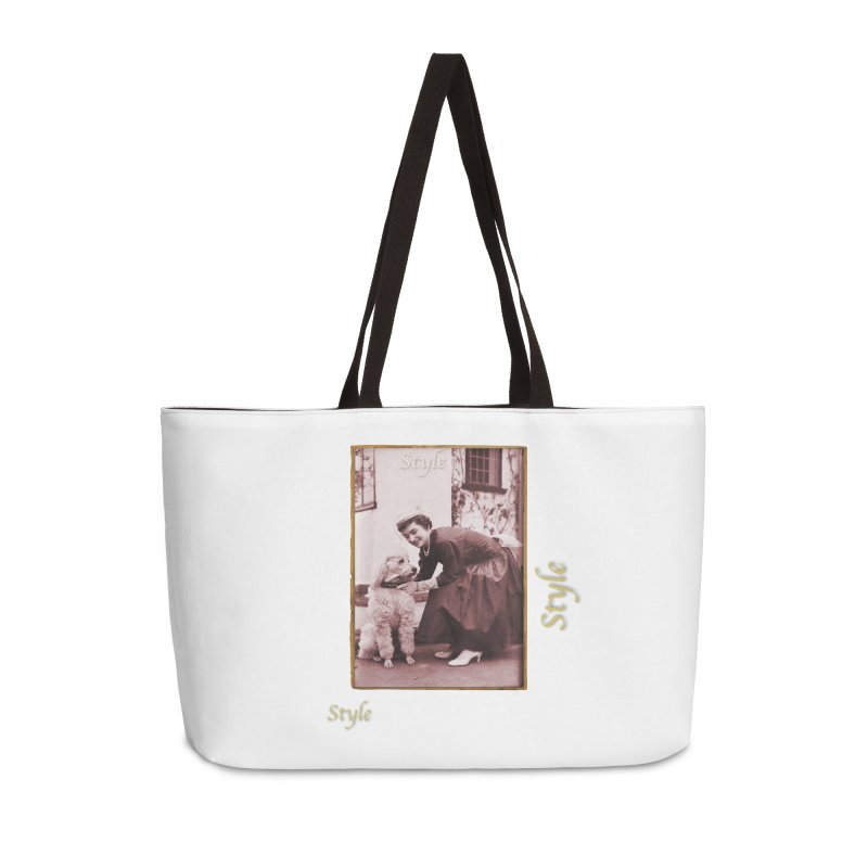 Celebrate Parisian Style! Accessories Weekender Bag Bag by Maryheartworks's Artist Shop