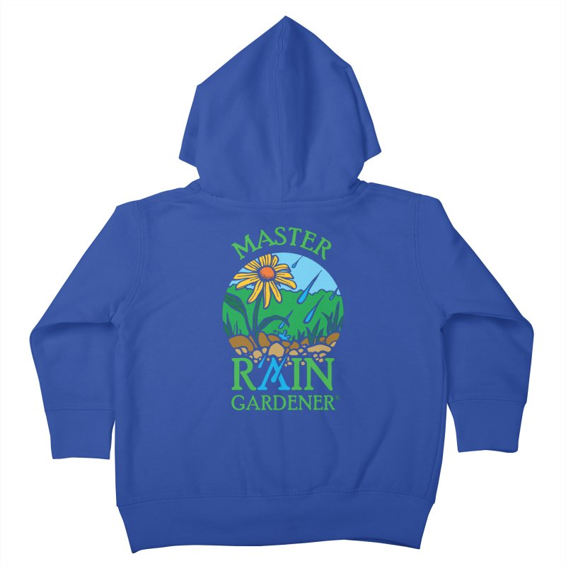 Master Rain Gardener Kids Toddler Zip-Up Hoody by MasterRainGardener's Artist Shop