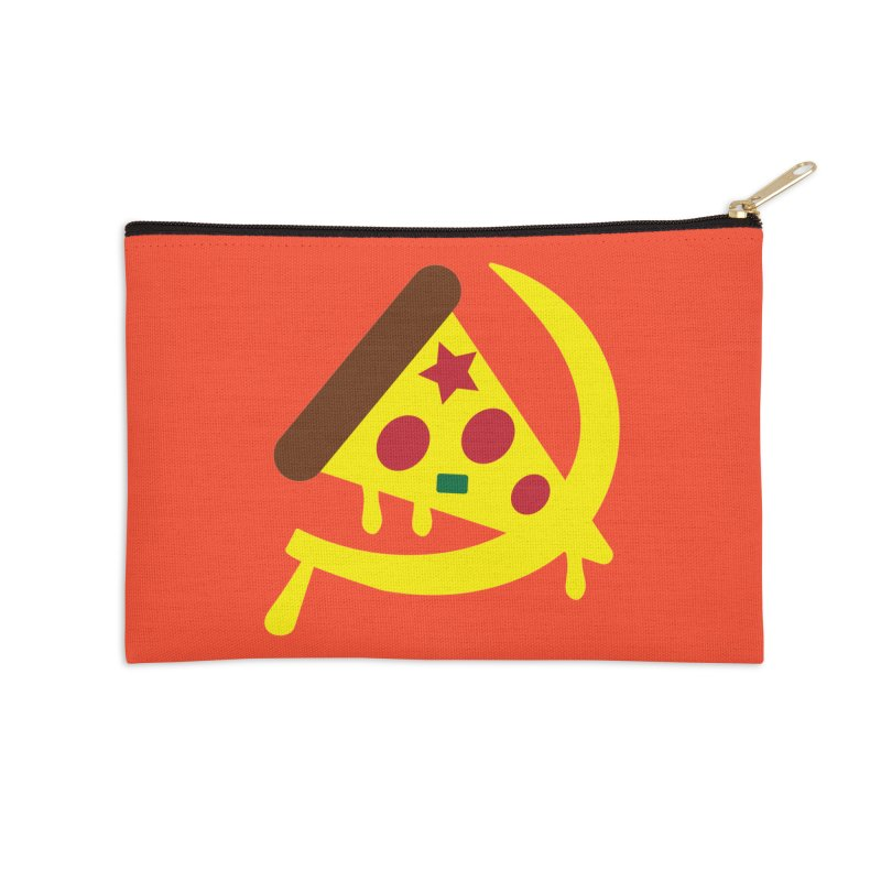 Pizza Communism Accessories Zip Pouch by MDM