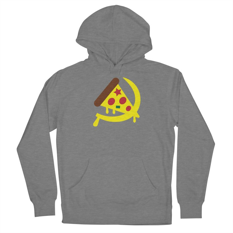 Pizza Communism Men's Pullover Hoody by MDM