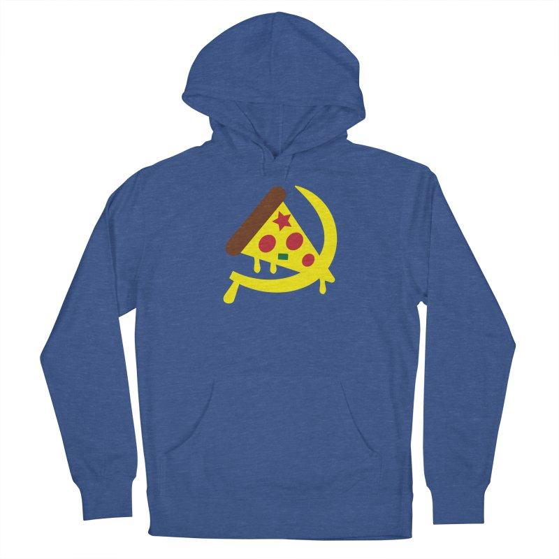 Pizza Communism Men's Pullover Hoody by MDM