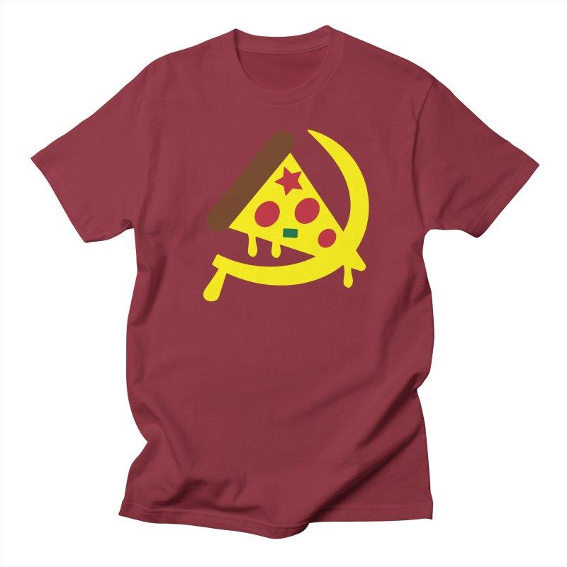 Pizza Communism Men's T-Shirt by MDM