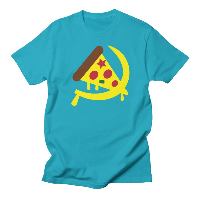 Pizza Communism Men's Regular T-Shirt by MDM