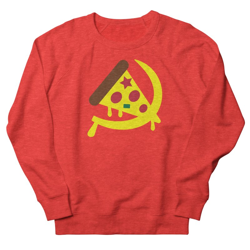 Pizza Communism Women's Sweatshirt by MDM
