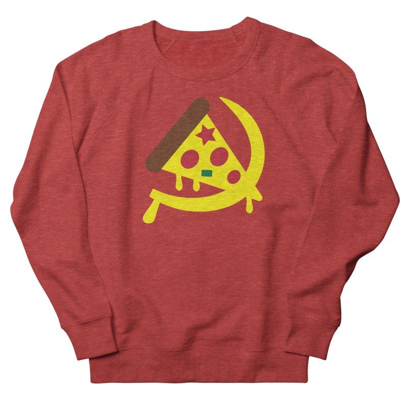 Pizza Communism Women's French Terry Sweatshirt by MDM