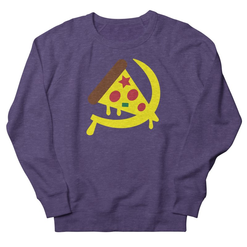Pizza Communism Men's Sweatshirt by MDM