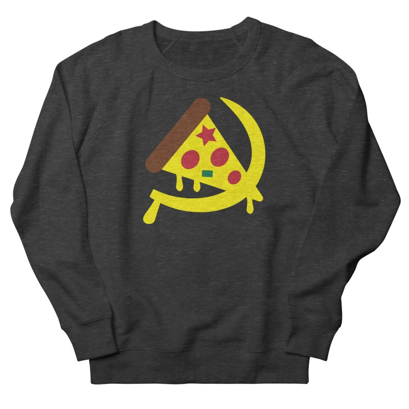 Pizza Communism Men's French Terry Sweatshirt by MDM
