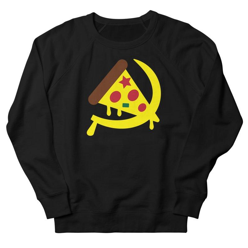 Pizza Communism Men's Sweatshirt by MDM
