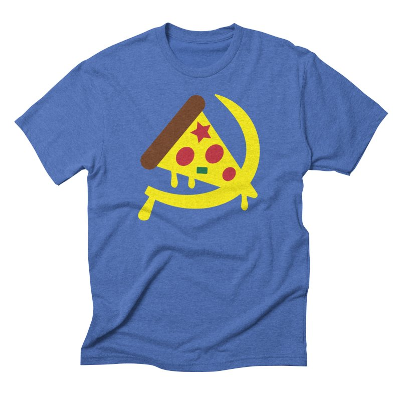 Pizza Communism Men's T-Shirt by MDM