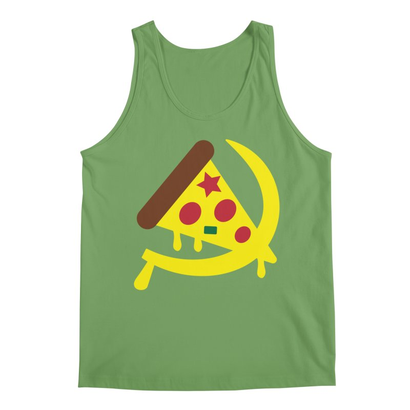 Pizza Communism Men's Tank by MDM