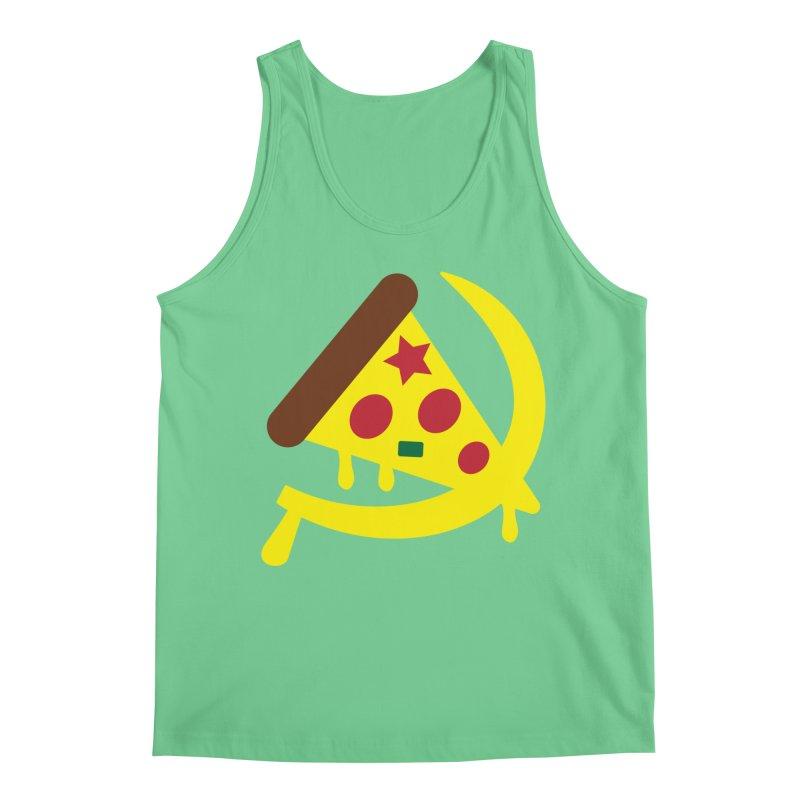 Pizza Communism Men's Regular Tank by MDM