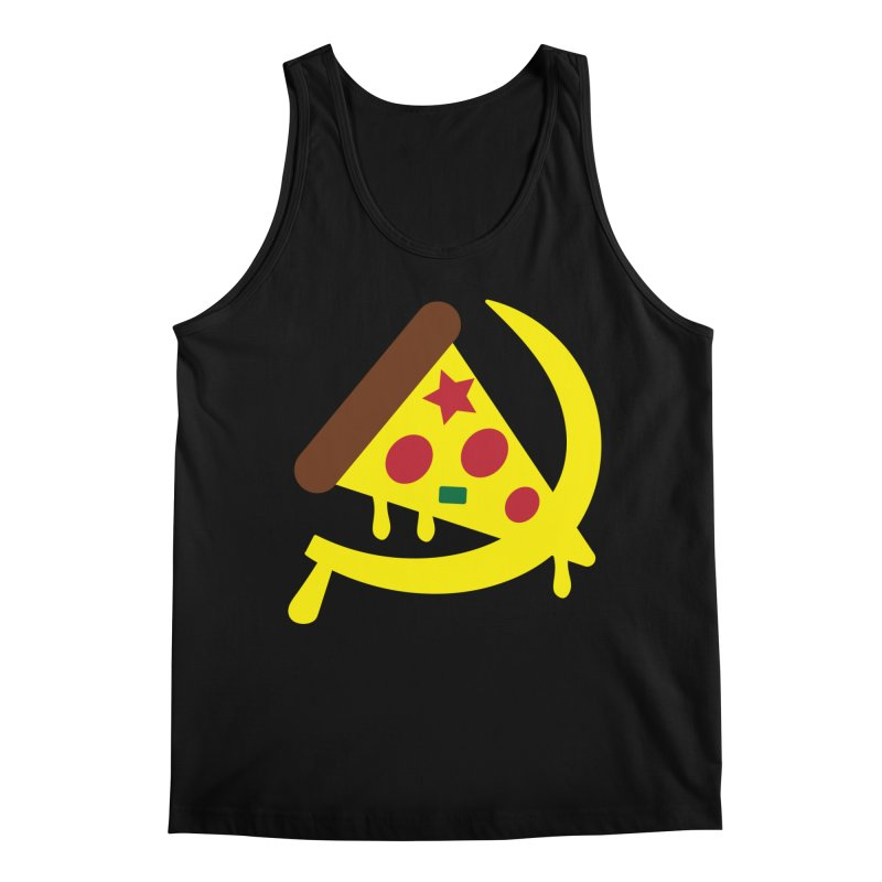 Pizza Communism Men's Tank by MDM