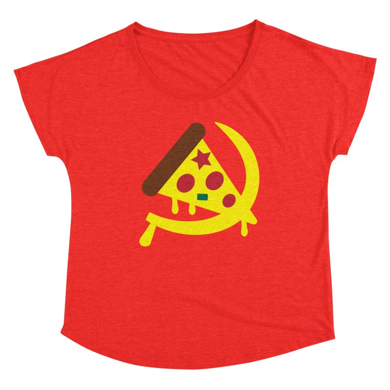 Pizza Communism Women's Scoop Neck by MDM