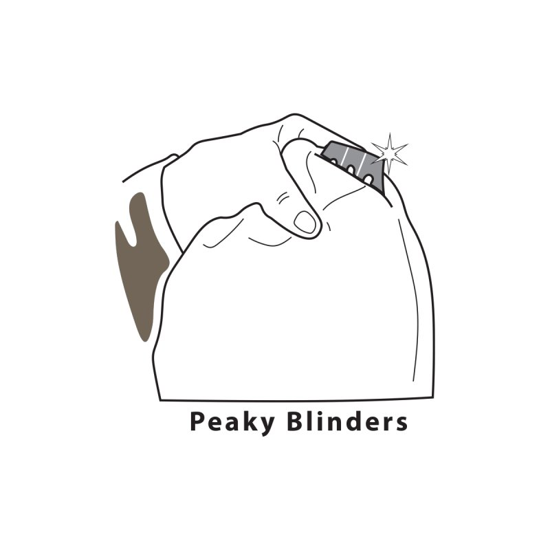 Peaky Blinders  Women's T-Shirt by MDM