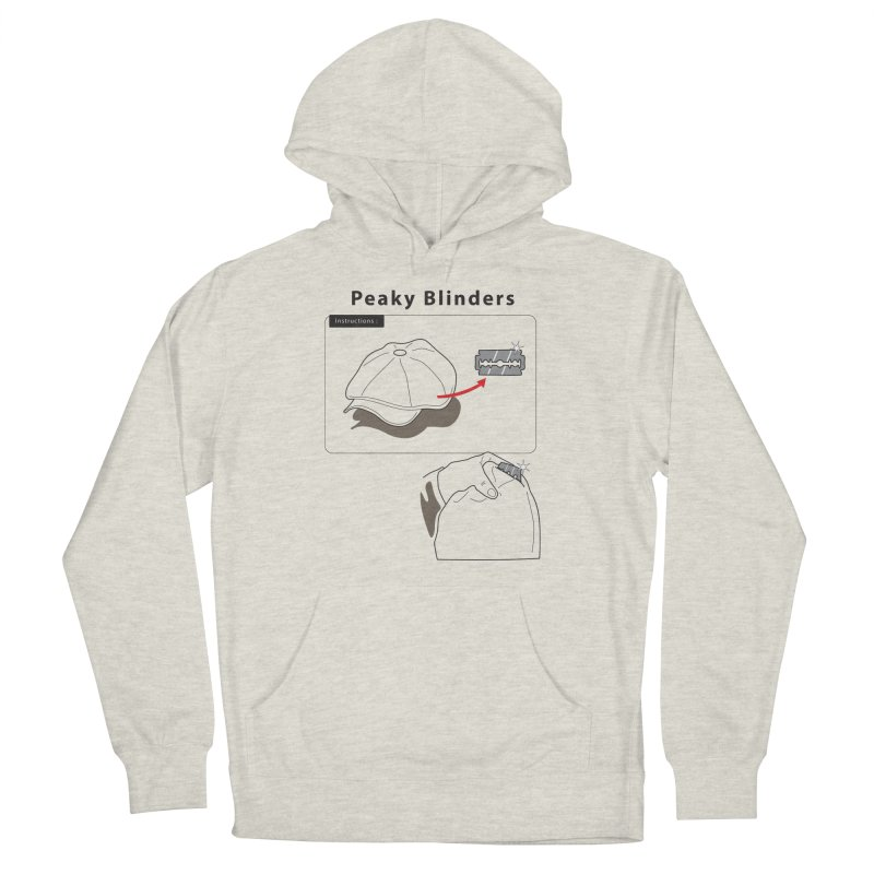Peaky Blinders Ikea Women's French Terry Pullover Hoody by MDM