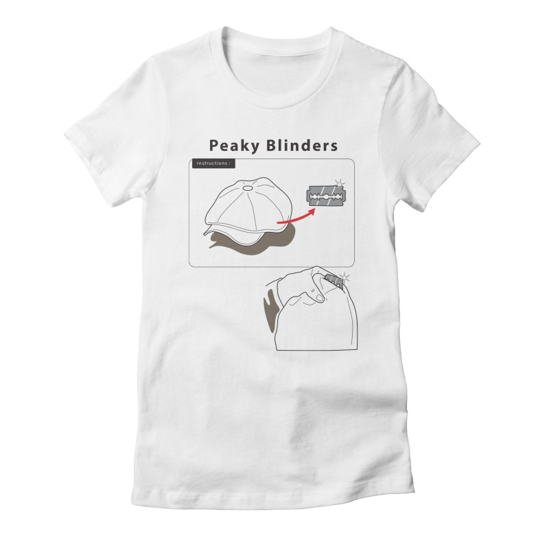 Peaky Blinders Ikea Women's Fitted T-Shirt by MDM