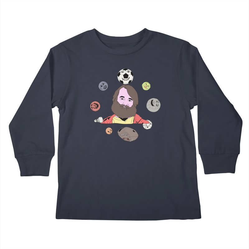 The Last Man on Earth Kids Longsleeve T-Shirt by MDM