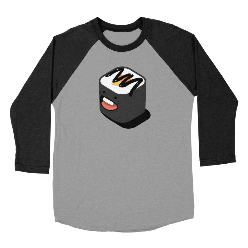 Sushi  Women's Baseball Triblend Longsleeve T-Shirt by MDM