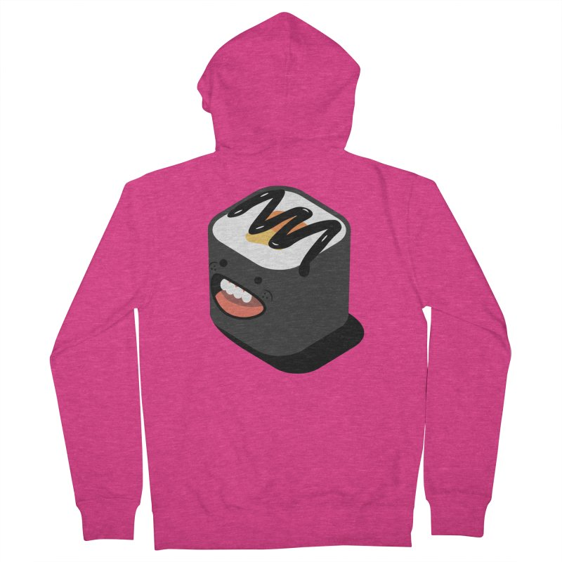 Sushi  Women's French Terry Zip-Up Hoody by MDM