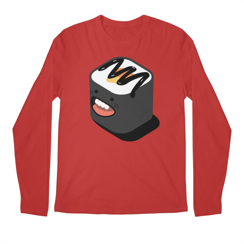 Sushi  Men's Regular Longsleeve T-Shirt by MDM