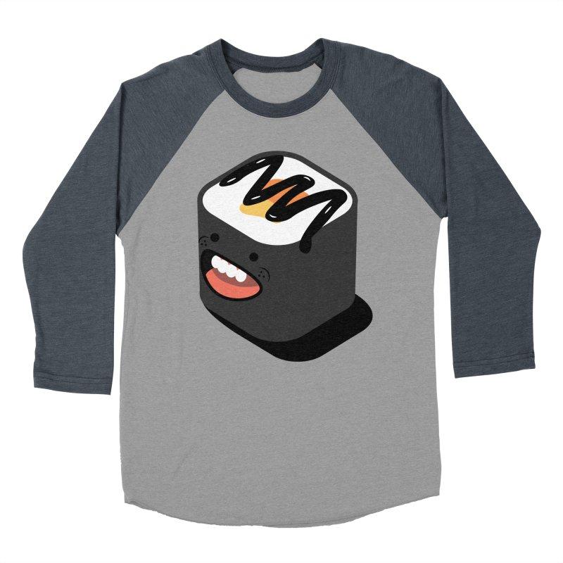 Sushi  Men's Baseball Triblend Longsleeve T-Shirt by MDM