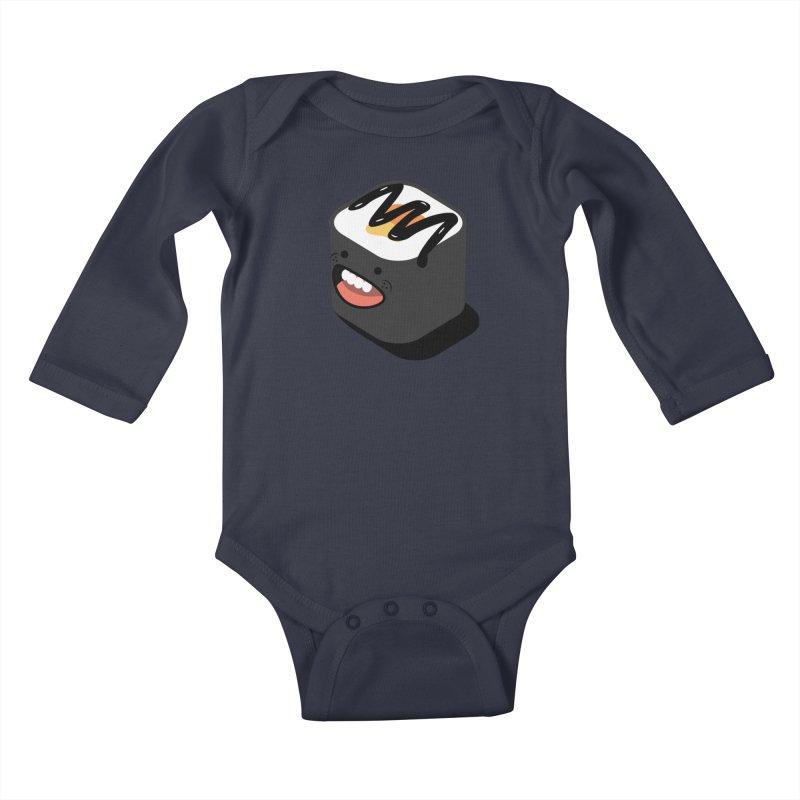 Sushi  Kids Baby Longsleeve Bodysuit by MDM