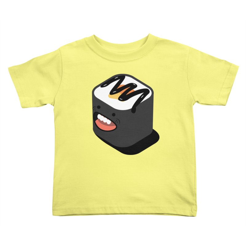 Sushi  Kids Toddler T-Shirt by MDM