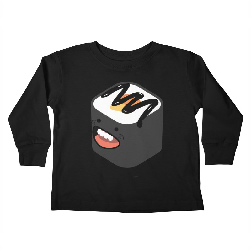 Sushi  Kids Toddler Longsleeve T-Shirt by MDM