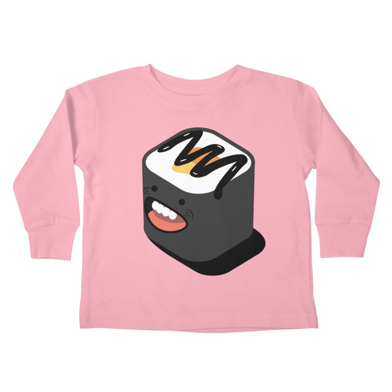 Sushi  Kids Toddler Longsleeve T-Shirt by MDM