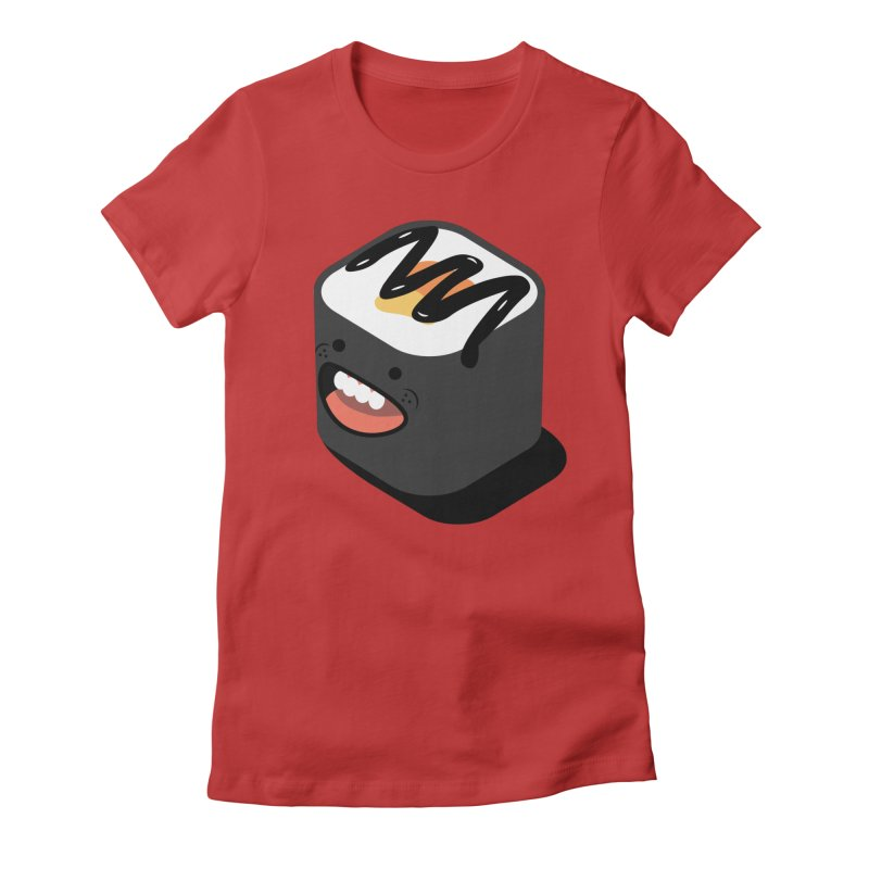 Sushi  Women's Fitted T-Shirt by MDM