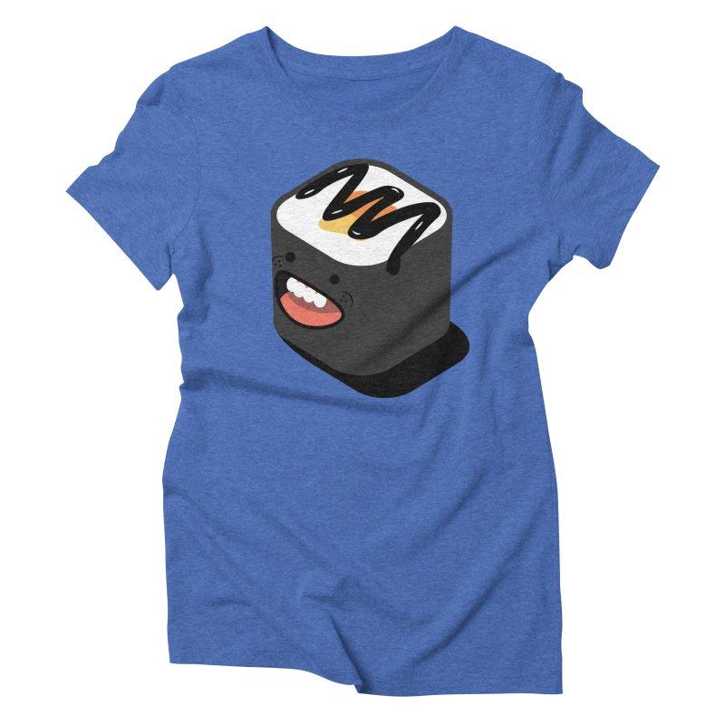 Sushi  Women's Triblend T-Shirt by MDM